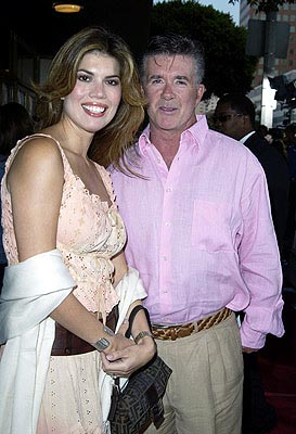 Alan Thicke and Tanya