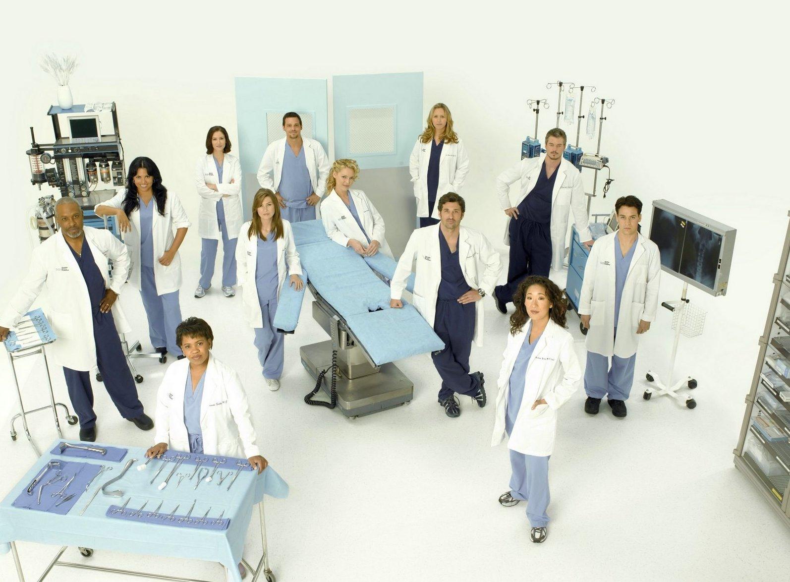 Erfreut Serie Greys Anatomy Ideen - Menschliche Anatomie Bilder ...