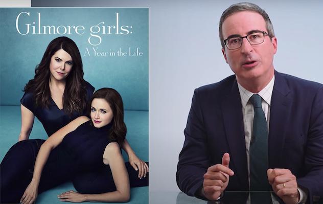 John Oliver se déchaîne à propos de Gilmore Girls Revival … quatre ans plus tard – Regardez