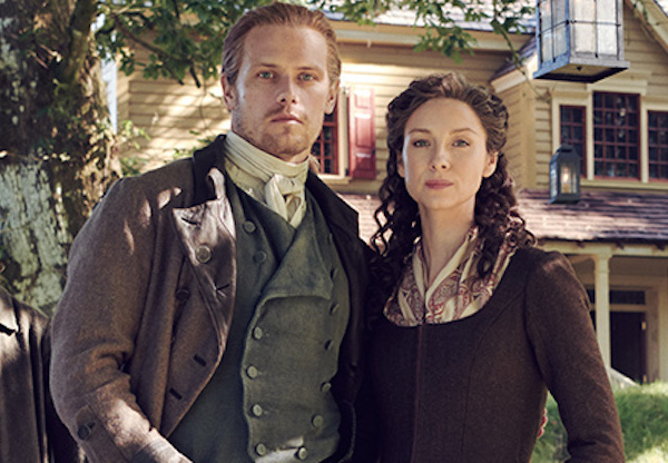 Série Facebook « Outlander » avec Caitriona Balfe et Sam Heughan