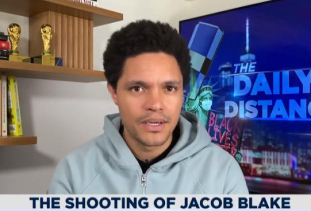 Trevor Noah condamne le tir de Jacob Blake: « Pour certaines personnes, la peau noire est l'arme la plus menaçante de toutes »