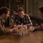 Jared Padalecki, Jensen Ackles et Misha Collins de Supernatural disent au revoir le dernier jour du tournage