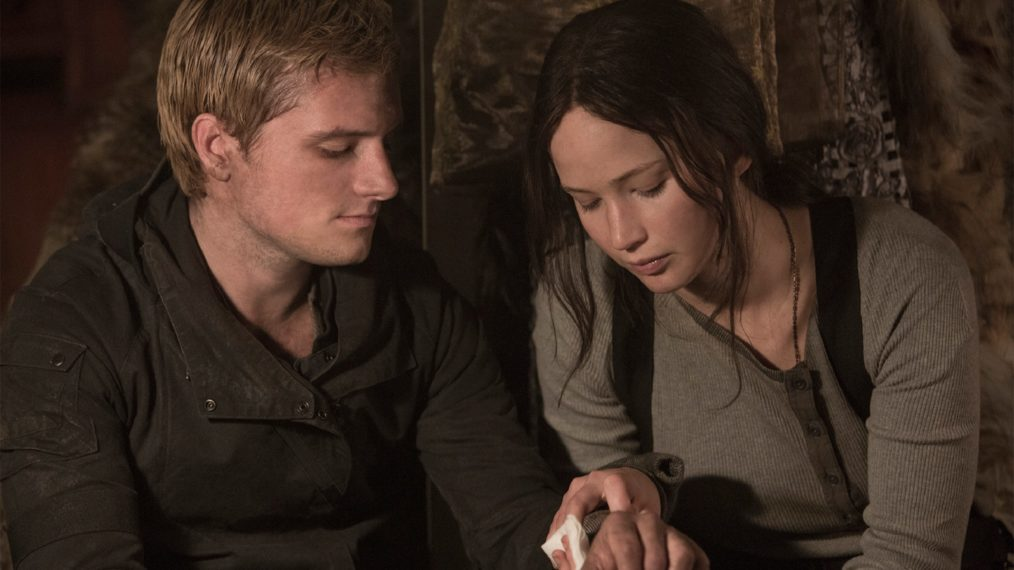 The Hunger Games Mockingjay Partie 2 Jennifer Lawrence Josh Hutcherson