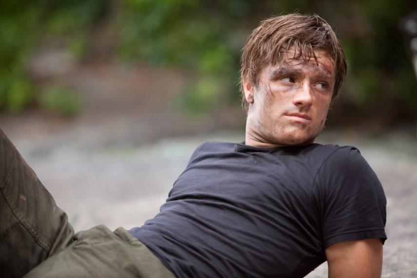 Josh Hutcherson Les Hunger Games 2012