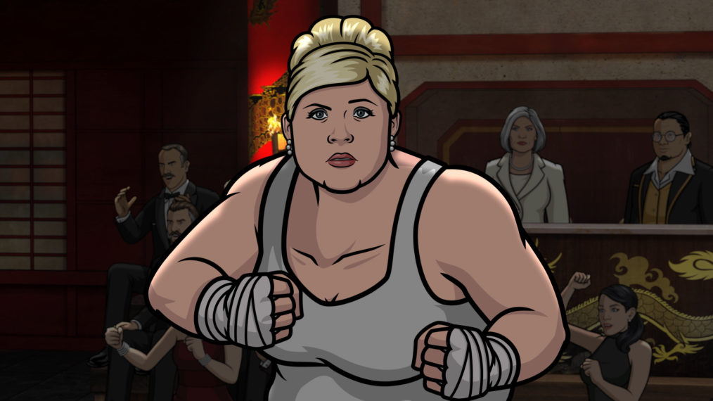 'Archer': Amber Nash, la voix de Pam, présente une saison sauvage 11 (VIDEO)