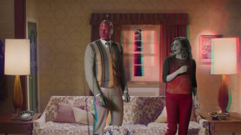 La bande-annonce de « WandaVision » présente la vie farfelue de Scarlett Witch & Vision (VIDEO)