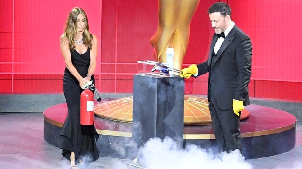 Emmys 2020: Un feu de poubelle, des retrouvailles entre amis et plus de hauts et de bas