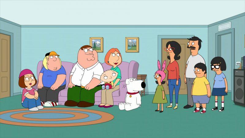 Family Guy, Bob's Burgers: la série animée FOX renouvelée jusqu'à la saison 2022-2023
