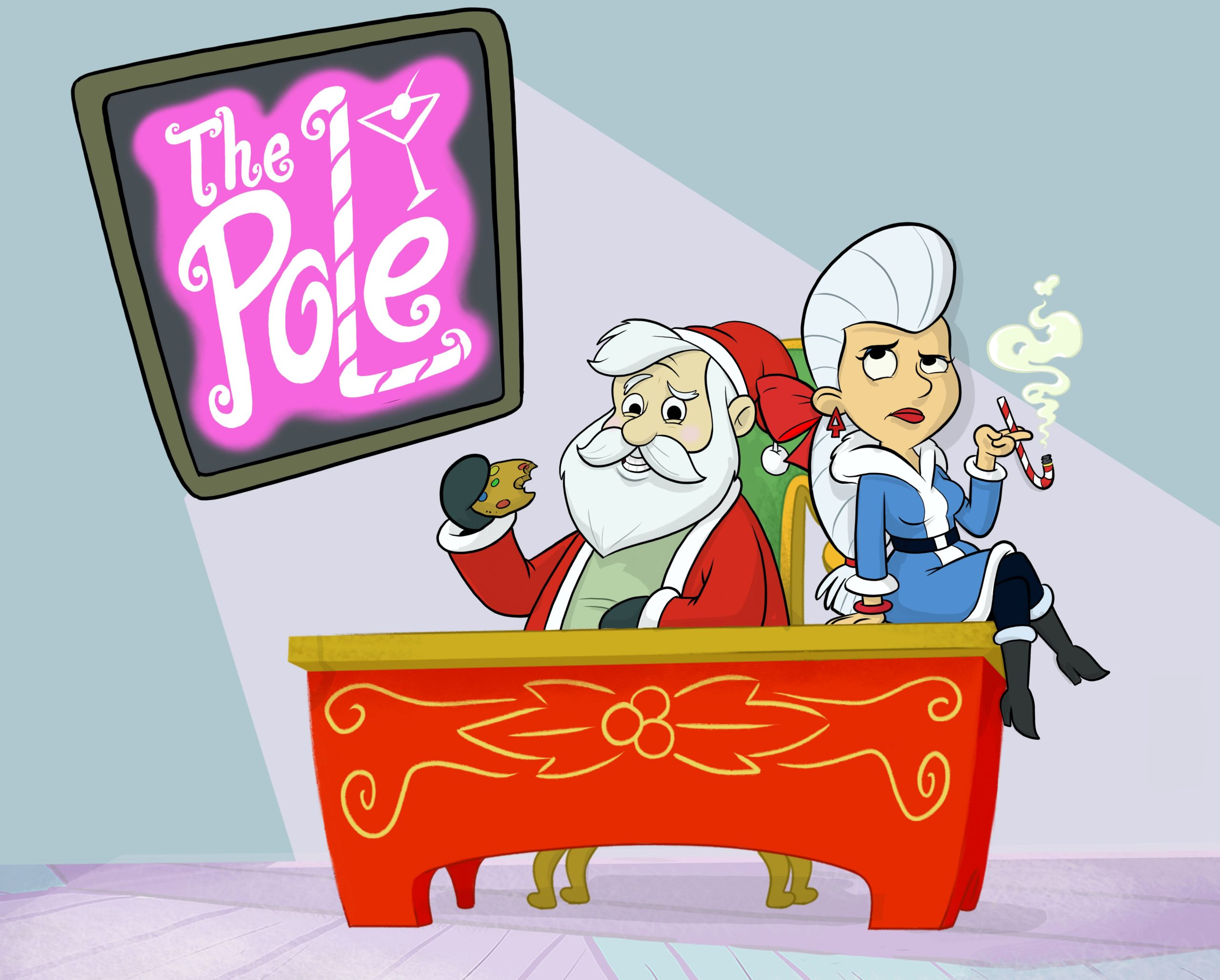 The Pole, The Summoner: Syfy fixe la date de la première de la série comique d'animation (vidéo)
