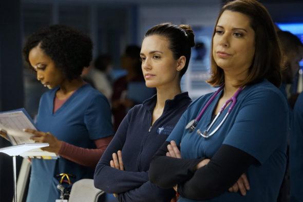 Chicago Med: Saison six;  Production lors de l'arrêt de la série NBC