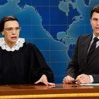 Kate McKinnon de SNL rend hommage à Ruth Bader Ginsburg, la `` super-héros de la vie réelle ''