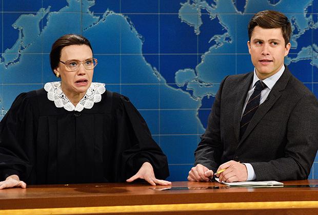 Kate McKinnon de SNL rend hommage à Ruth Bader Ginsburg, la « super-héros de la vie réelle »