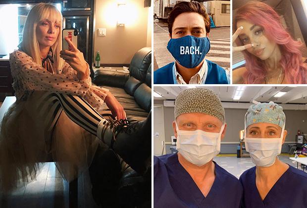 Les stars de la télévision de retour au travail: photos de Batwoman, Grey's Anatomy, SVU, Riverdale, The Good Doctor et plus