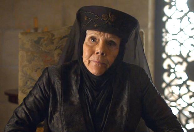 Dame Diana Rigg, Lady Olenna Tyrell de Game of Thrones, morte à 82 ans