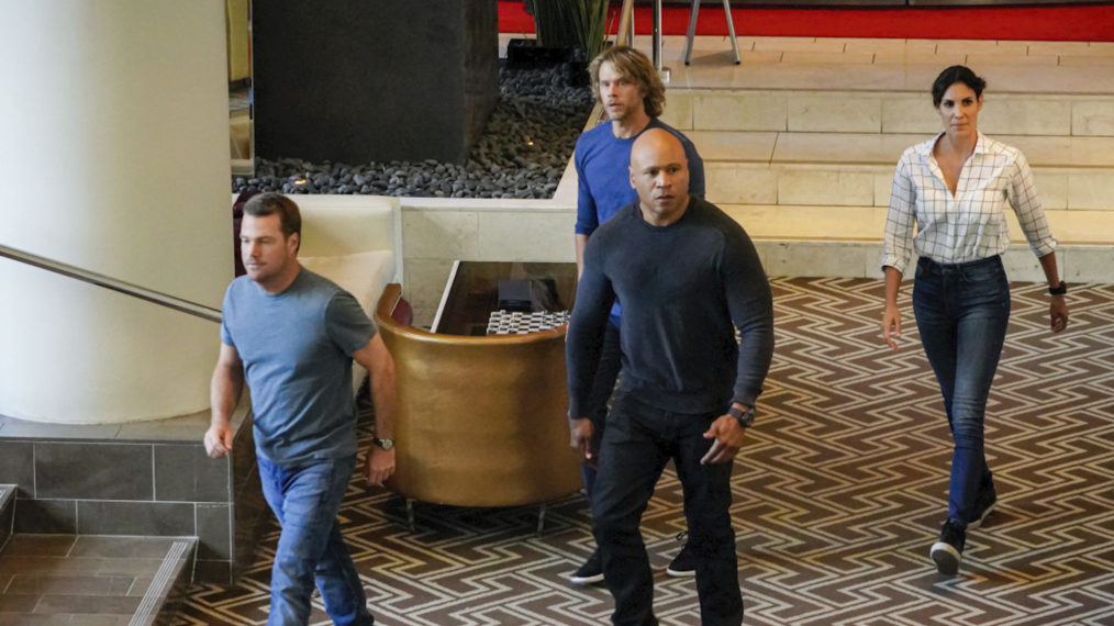 'NCIS: LA' commence la saison de tournage 12 – Voir le casting sur le plateau (PHOTOS)
