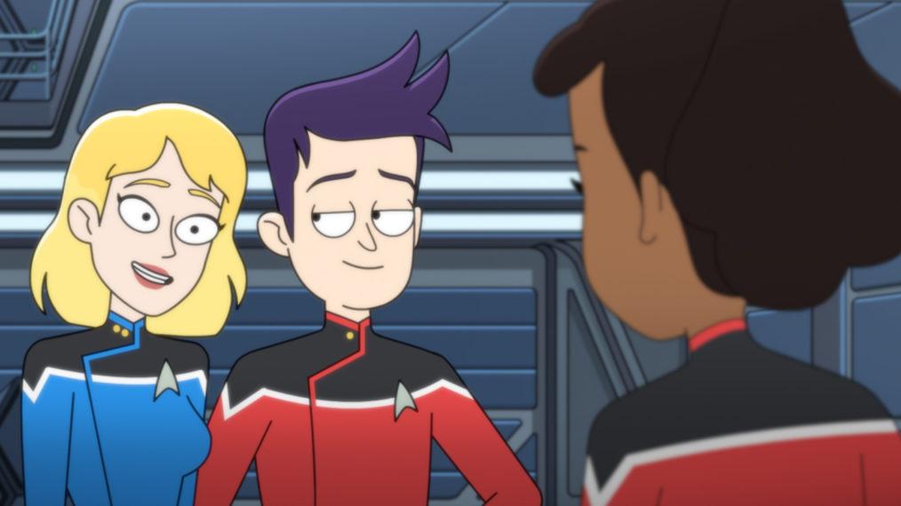 'Star Trek: Lower Decks': Gillian Jacobs Guest Stars en tant que nouvelle petite amie de Boimler (VIDEO)