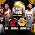 Programme télévisé des finales NBA 2020: Lakers vs Heat