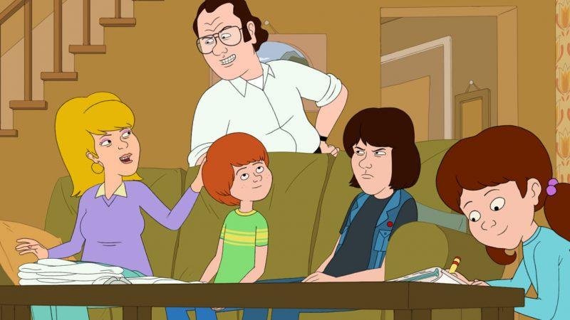 F est pour la famille: saison cinq;  La série animée Netflix renouvelée pour la dernière saison