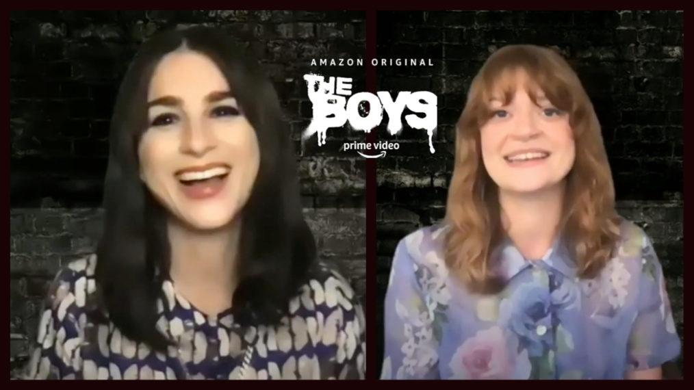'The Boys': Aya Cash et Colby Minifie sur ce qui va suivre pour les principaux joueurs de Vought (VIDEO)