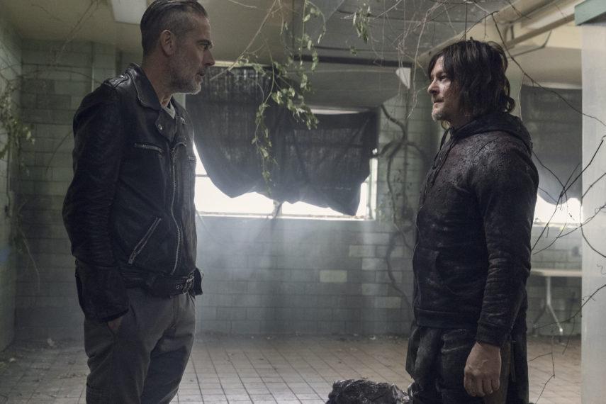 Walking Dead un certain doom daryl norman reedus negan jeffrey dean morgan