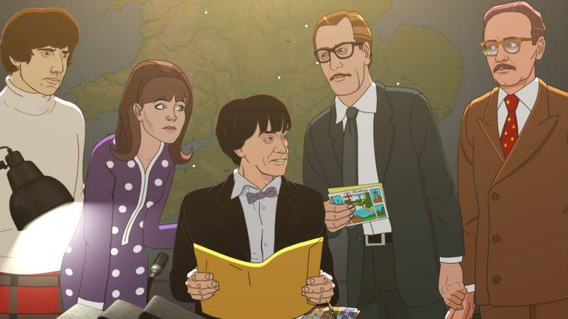 'Doctor Who's Animated' The Faceless Ones 'est une histoire des années 60 qui fait froid dans le dos