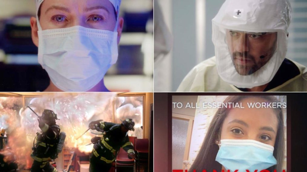 « Grey's Anatomy » et « Station 19 » consacrent des saisons aux travailleurs essentiels (VIDEO)