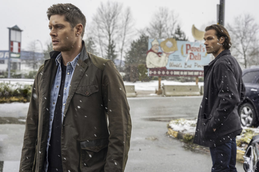 Jared Padalecki Jensen Ackles Supernatural 1515 Sam Dean Winchester