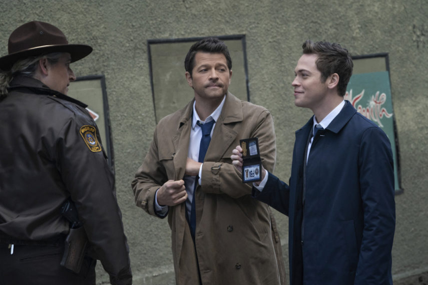 Castiel Jack Faux FBI Cas Sheriff Supernatural 1515