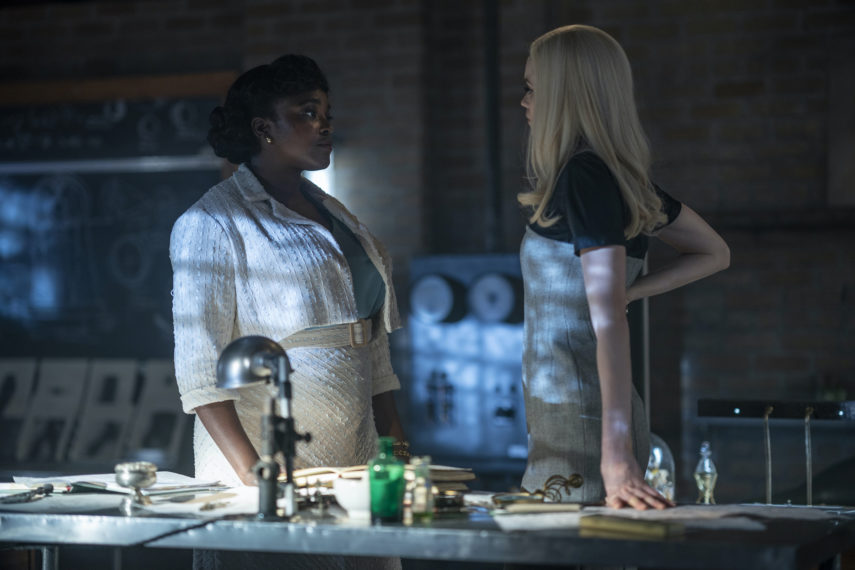 Wunmi Mosaku et Abbey Lee dans Lovecraft Country Episode 10