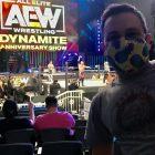 Qu'est-ce que c'est d'assister à un spectacle `` Dynamite '' de lutte d'élite en direct pendant COVID-19