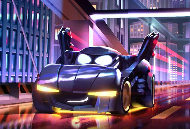 La série animée Batwheels crée des pistes pour HBO Max, Cartoon Network