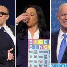 SNL parodie le deuxième débat, présente Maya Rudolph dans le rôle de Kristen Welker - De plus, Rudy Giuliani tire un autre `` Borat ''