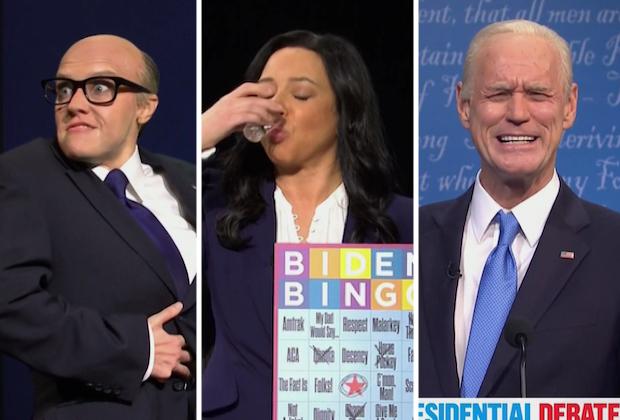 SNL parodie le deuxième débat, présente Maya Rudolph dans le rôle de Kristen Welker – De plus, Rudy Giuliani tire un autre « Borat »