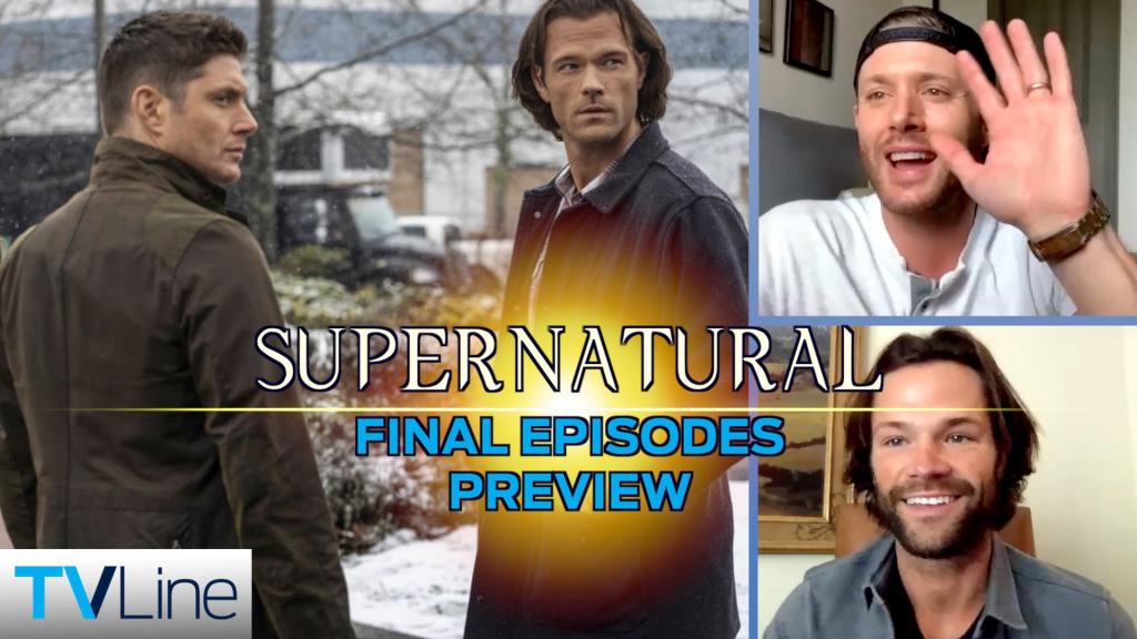 Vidéo surnaturelle: Jensen Ackles et Jared Padalecki prévisualisent les hochements de tête des derniers épisodes – Regardez