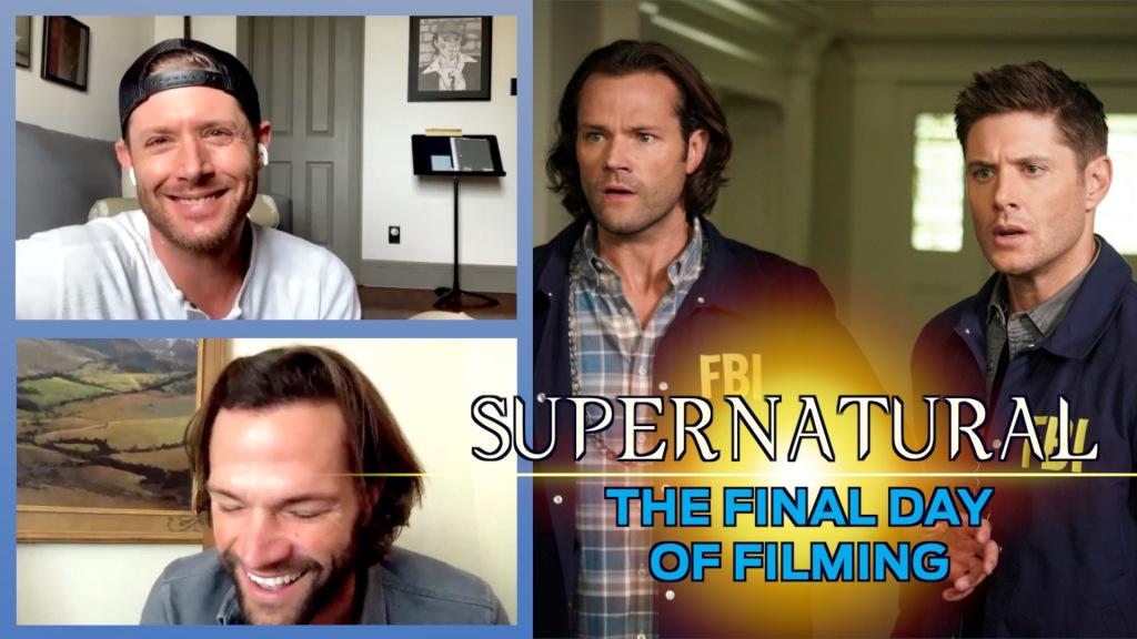 Vidéo surnaturelle: Jensen Ackles et Jared Padalecki réfléchissent au dernier jour de tournage « lourd »