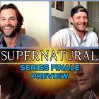 Vidéo surnaturelle: Jensen Ackles et Jared Padalecki taquinent la fin de Dean et Sam, parlent du dernier jour `` bizarre '' sur le plateau