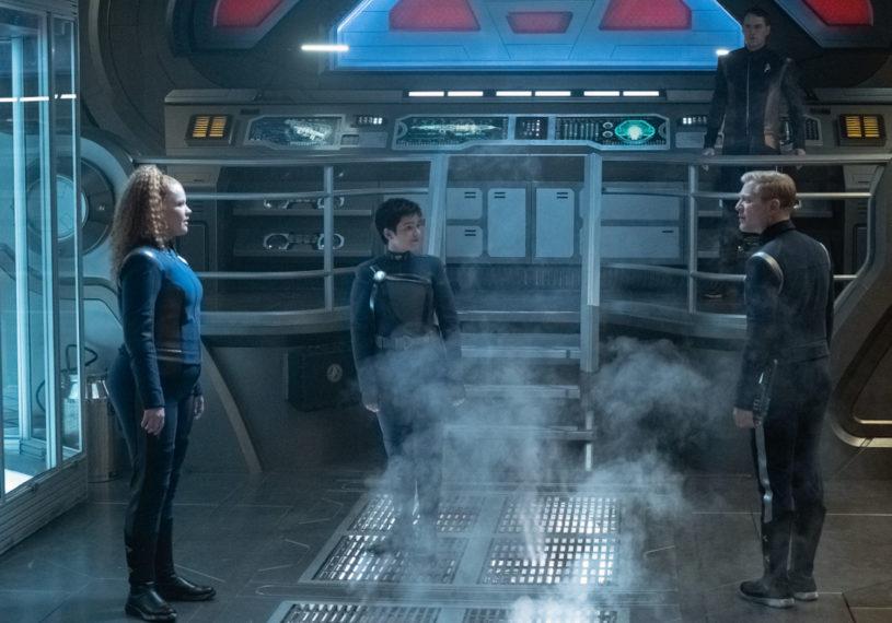 Mary Wiseman Blu del Barrio Anthony Rapp Star Trek Discovery
