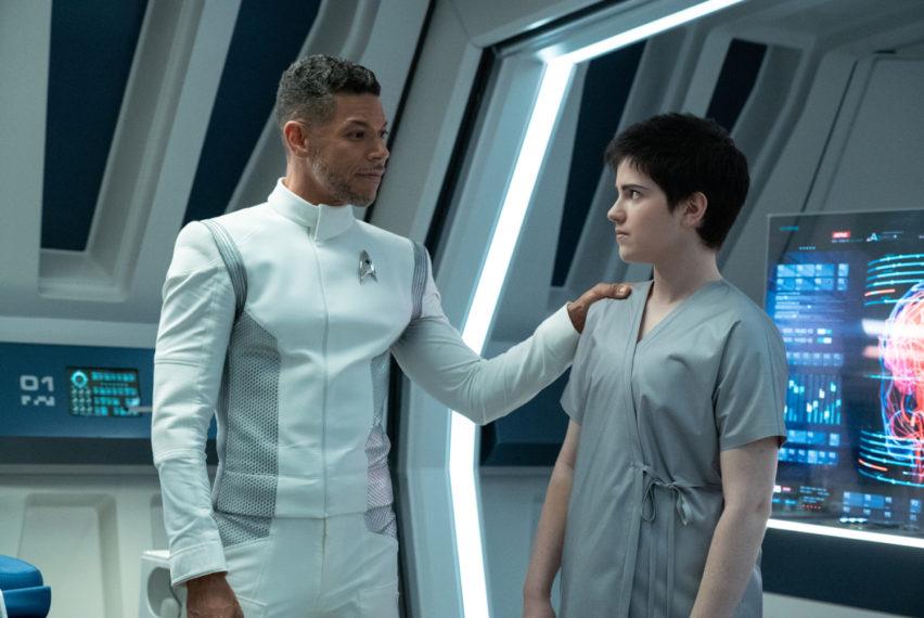 Wilson Cruz Blu del Barrio Star Trek Découverte