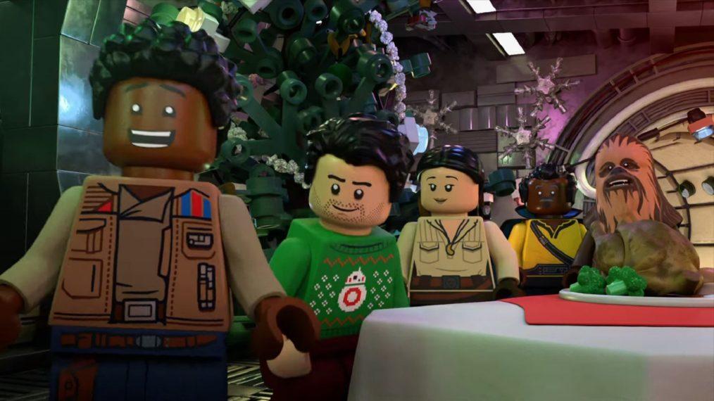 Le passé et le présent se heurtent dans 'LEGO Star Wars Holiday Special' (VIDEO)