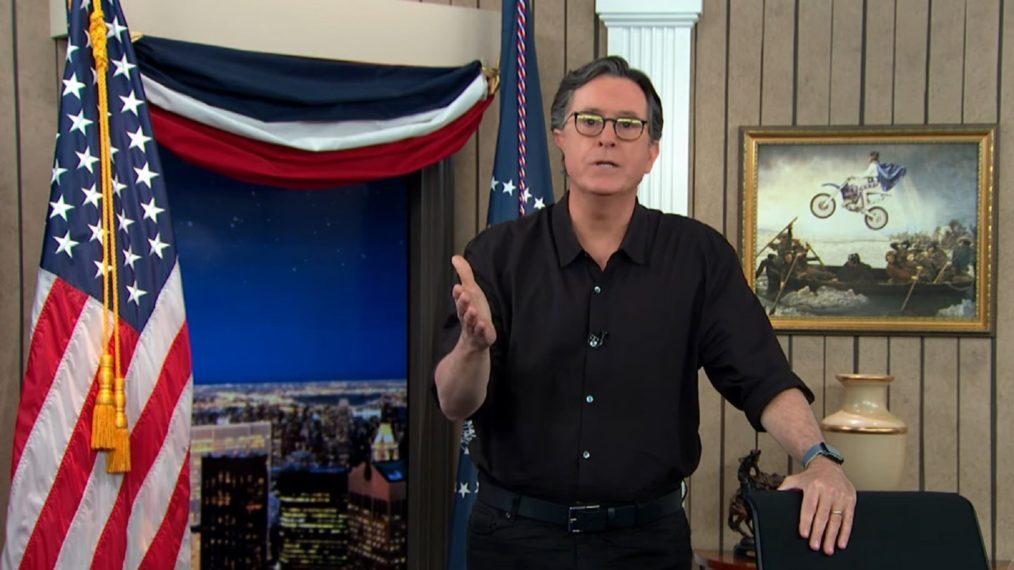 Stephen Colbert donne un monologue émotionnel « Late Show » sur les mensonges de l'élection Trump (VIDEO)