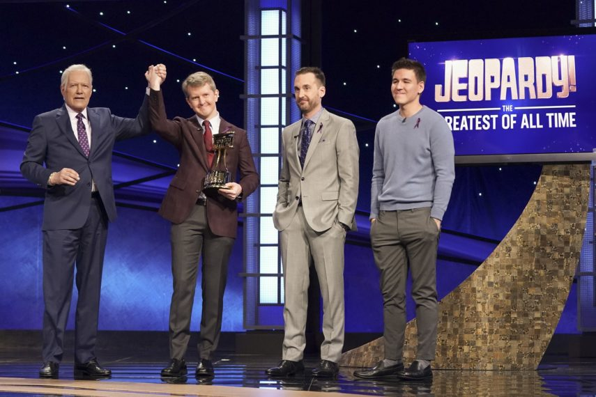 Alex Trebek Ken Jennings Brad rutter James Holzhauer Jeopardy