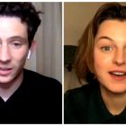`` La couronne '': Josh O'Connor et Emma Corrin sur Being Charles & Diana (VIDEO)