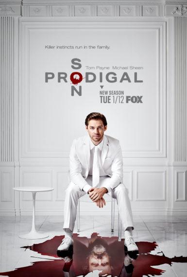 Prodigal Son Saison 2 Tom Payne Michael Sheen Poster