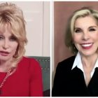 Christine Baranski et Dolly Parton parlent du `` Noël de Dolly Parton sur la place '' (VIDEO)