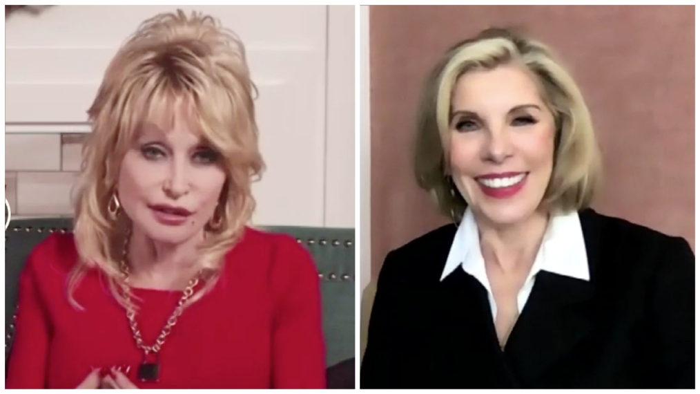 Christine Baranski et Dolly Parton parlent du « Noël de Dolly Parton sur la place » (VIDEO)