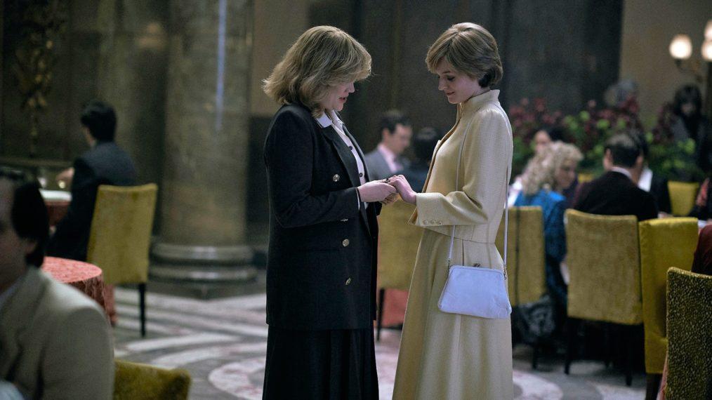 « La couronne »: la vraie histoire derrière le déjeuner-réunion de Diana et Camilla