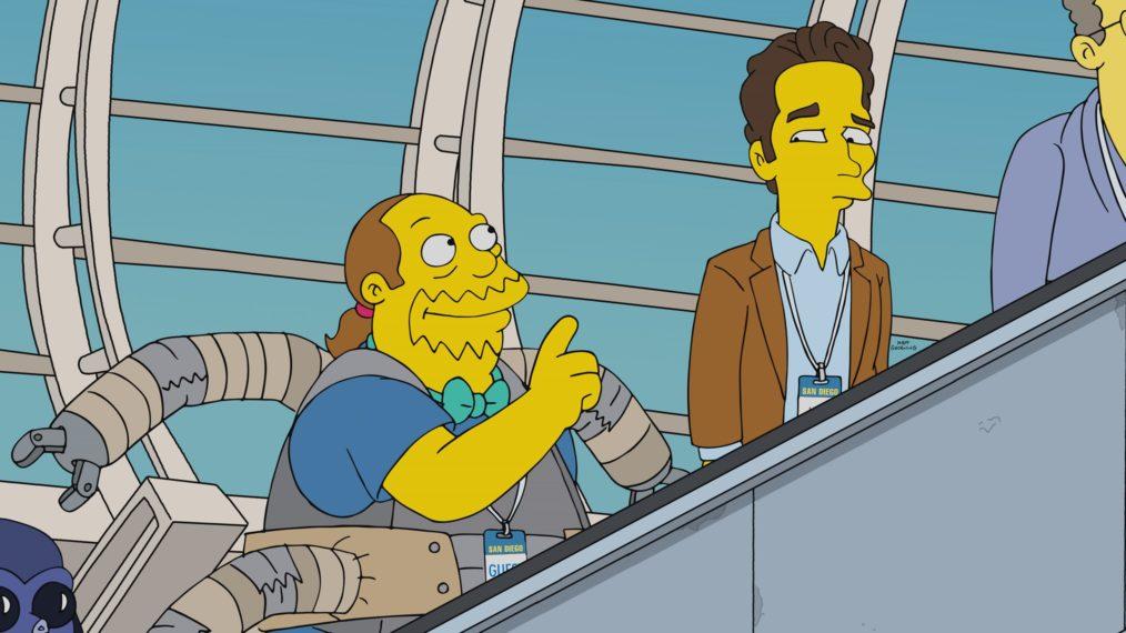 « Les Simpson »: Paul Rudd et Ben Platt assistent au Comic-Con de Springfield en premier regard (PHOTOS)