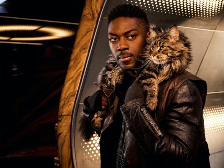 Star Trek Discovery Saison 3 Cleveland Booker Grudge Cat