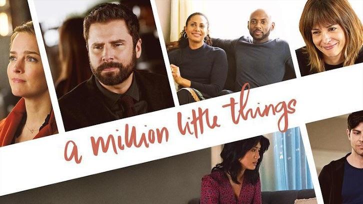 A Million Little Things – Episode 3.02 – écritures sur le mur – Communiqué de presse