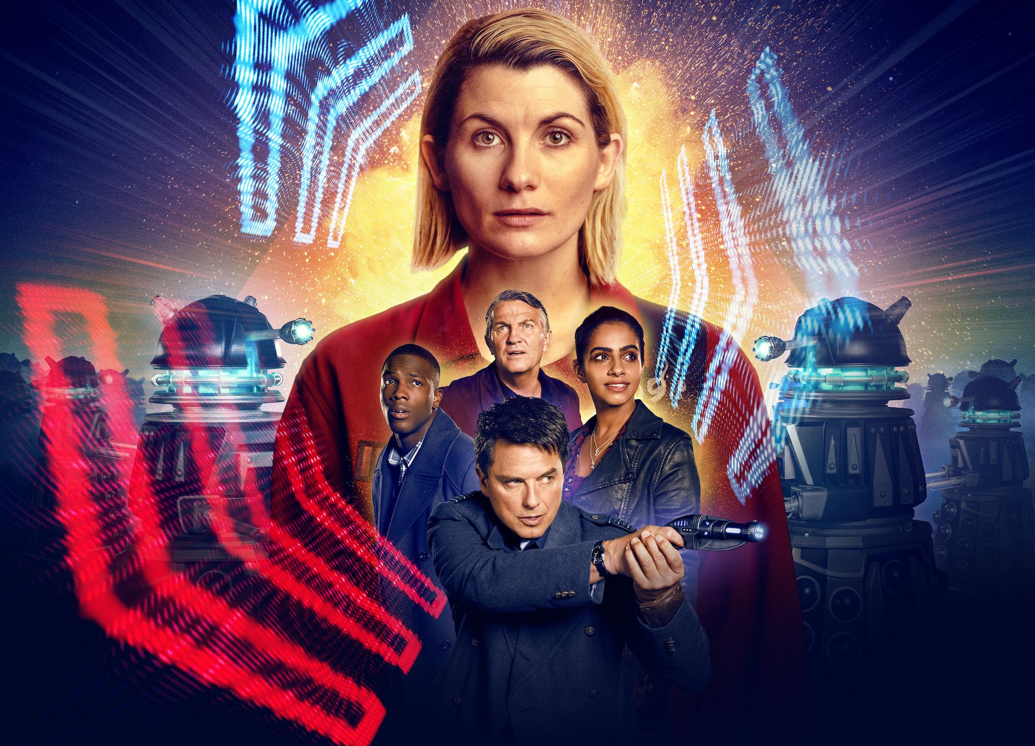 Doctor Who Révolution des Daleks Poster Barrowman